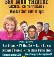 Summer Show Bru Boru Theatre in Cashel 31st July