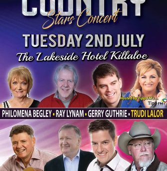 Irish Country Stars Concert Tue 2nd July