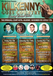 Kilkenny Goes Country - Nov 9th, 10th & 11th