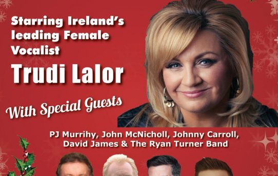 Trudi Lalor Christmas Show Bru Boru Theatre Cashel Tues 4th Dec 2018