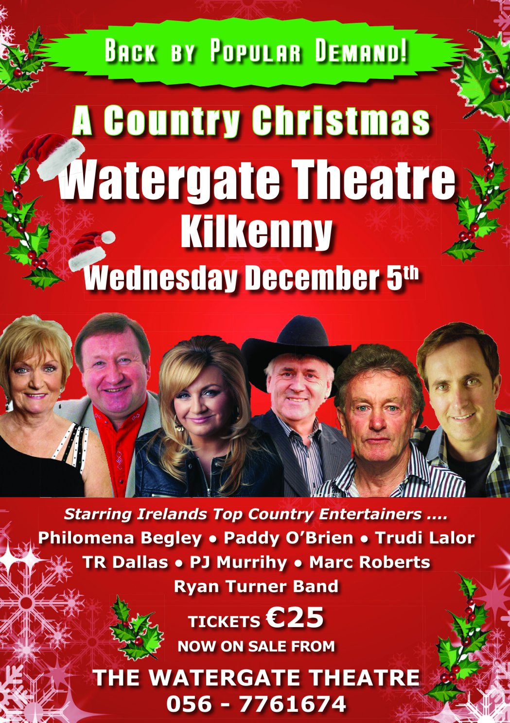 a country christmas watergate theatre kilkenny 5th dec - A Country Christmas