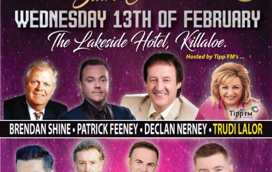 Irish Country Star Concert Wed 13th Feb 2019