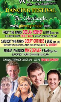 St Patricks Weekend Dancing Festival 15th -17th March 2019