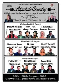 Lilywhite Country 26th -28th Aug Kildare Town