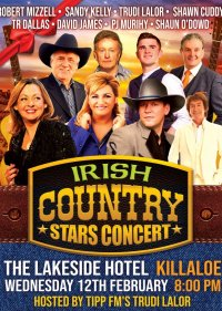 Irish Country Music Concert Feb 12th