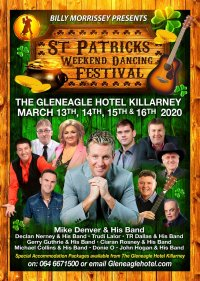St Patricks Weekend Dancing Festival 13th,14th,15th & 16th March