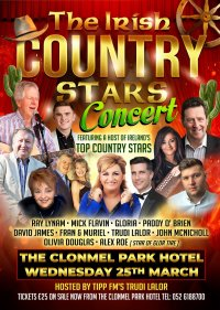The Irish Country Stars Concert 25th March