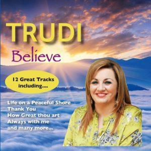 trudilalor.com CD cover Believe by Trudi Lalor