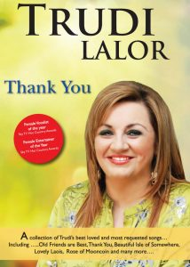 trudilalor.com DvD cover Thank You by Trudi Lalor